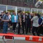 Hamburger Schüler-Ruderverband, Bootstaufe, Schulsenator Ties Rabe