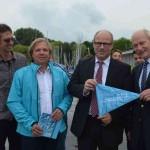 Hamburger Schüler-Ruderverband, Achim Eckmann, Schulsenator Ties Rabe