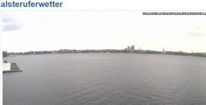 Livecam Außenalster Westufer